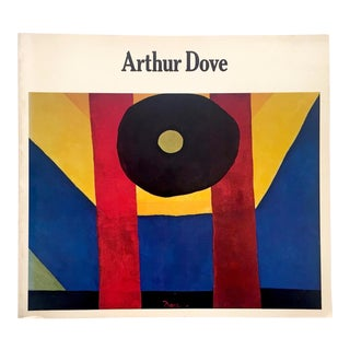 Arthur Dove Rare Vintage 1974 1st Edition Modernist Collector's San Francisco Museum Exhibition Art Book For Sale