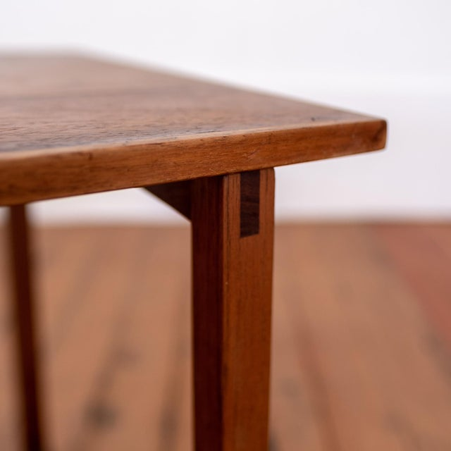 Rosewood Kai Kristiansen Nesting Cube Tables For Sale - Image 11 of 12