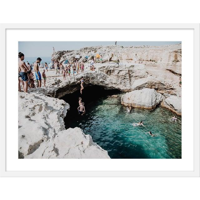 "Large ""Grotta Della Poesia"" Print by Natalie Obradovich, 41"" X 31"" For Sale"