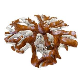 Bali Teak Tree Root Decorative Piece / Table For Sale