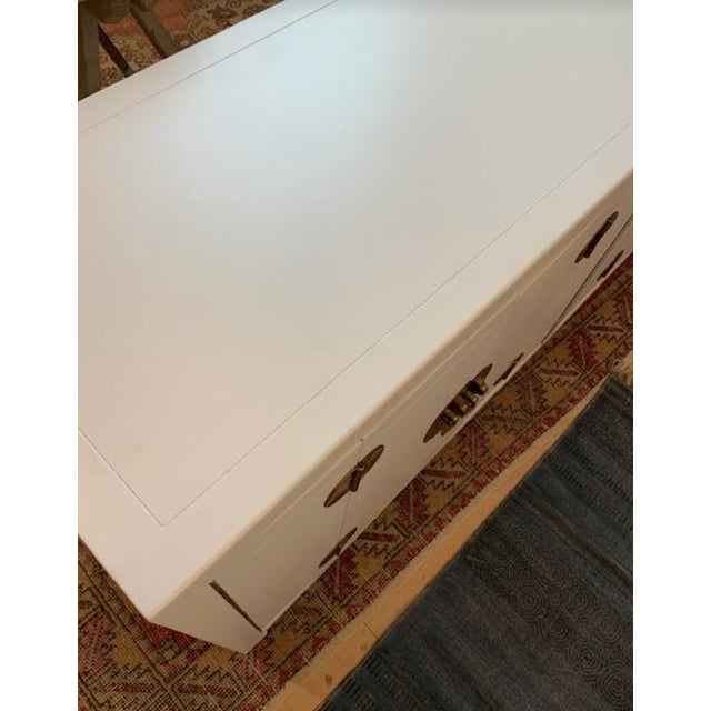 Mid-Century Modern 1960s Henredon Ming Console For Sale - Image 10 of 13