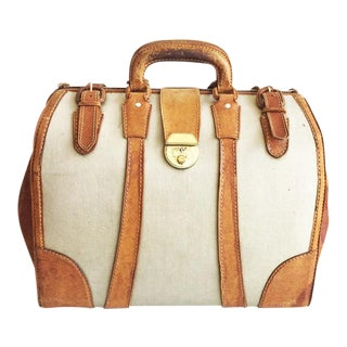 French Leather Medicine Bag For Sale