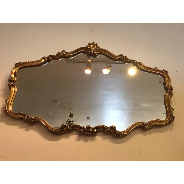 Hollywood Regency Gilt Mirror - Image 3 of 7