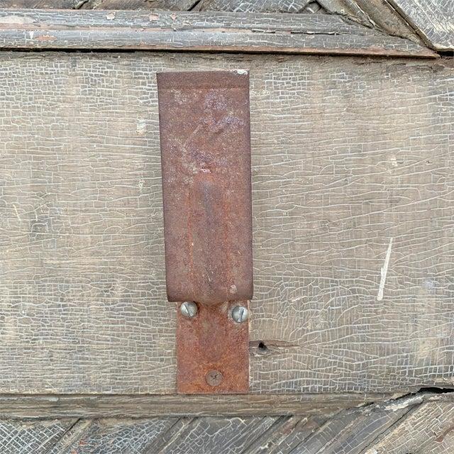 19th Century Vintage American Barn Door For Sale - Image 11 of 13