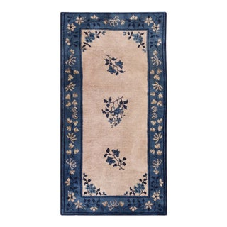 """Antique Chinese - Peking Rug 3'0"""" X5'10"""" For Sale"""