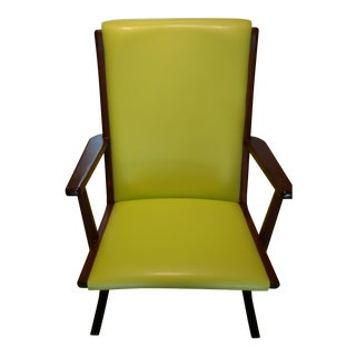 Mid-Century Teak Boomerang Chair