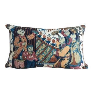"""Bespoke """"Chinese Astronauts"""" Lumbar Pillow"""