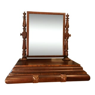 Gentleman's Tilt Shaving Mirror For Sale