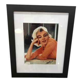 Original Signed George Barris Photo of Marilyn Monroe