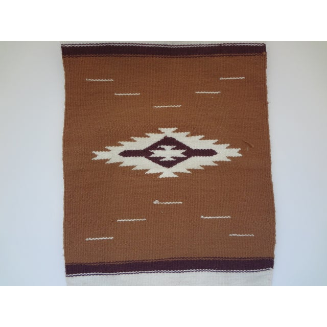 Hand Woven Chimayo Wool Runner - 1′6″ × 5′3″ - Image 3 of 6