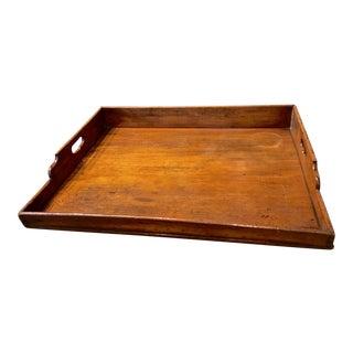 Georgian Mahogany Butler's Tray For Sale