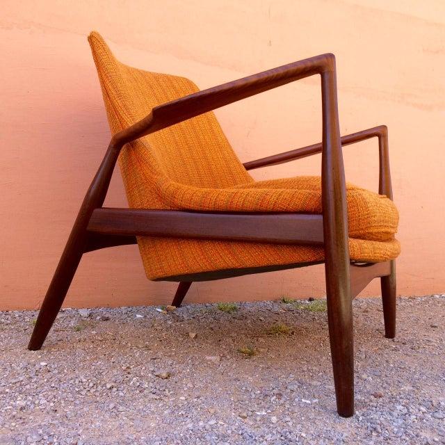 Ib Kofod-Larsen Rare Ib Kofod-Larsen 'Seal' Easy Chair For Sale - Image 4 of 10
