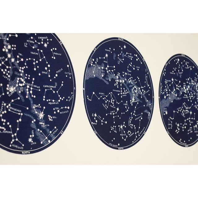 """Not Yet Made - Made To Order """"Capricorn Press"""" Celestial Print With 3 Constellation Maps For Sale - Image 5 of 7"""