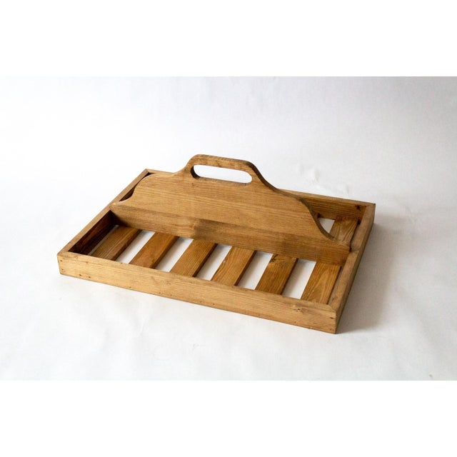 Wood Vintage Wooden Berry Carrier For Sale - Image 7 of 7