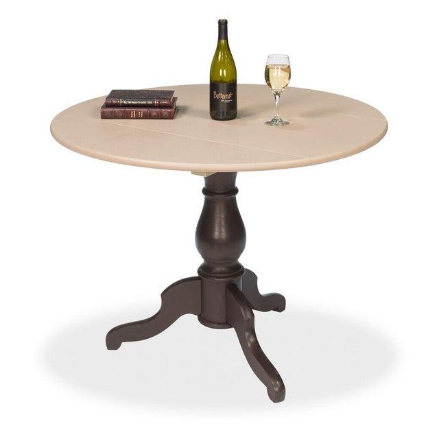 Sarreid LTD Round Pedestal Bistro Table - Image 5 of 6