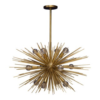 Zanadoo Small Starburst Chandelier by Arteriors Home For Sale