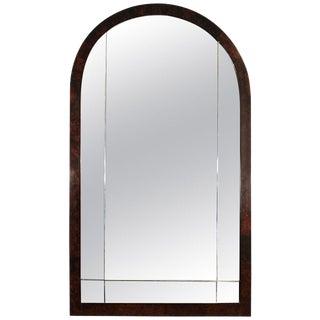 1930´s Art Deco mirror, walnut - France For Sale