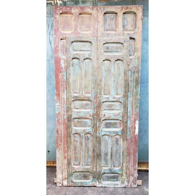 1940s 1940s Vintage Old Mok Moroccan Door For Sale - Image 5 of 8