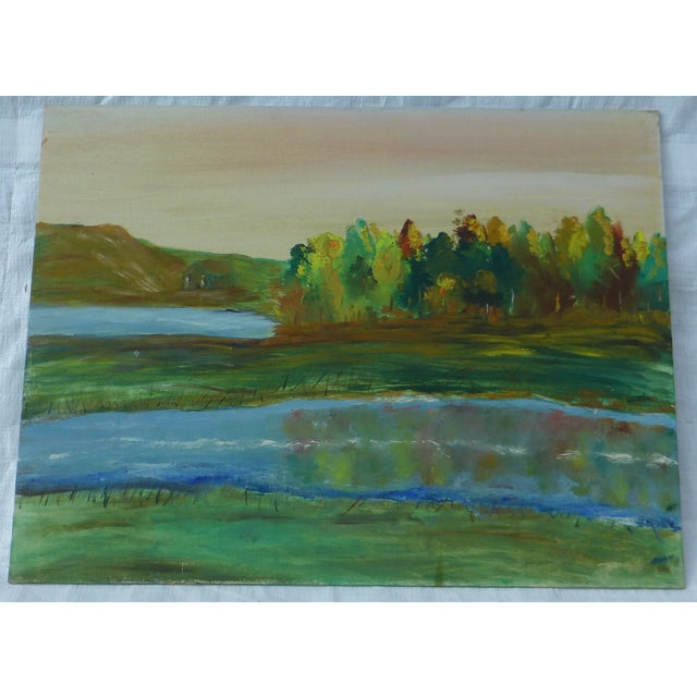 Tree Reflection Painting by H.L. Musgrave - Image 2 of 6