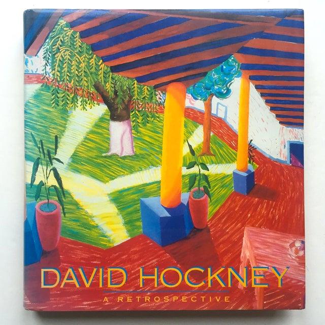 """ David Hockney a Retrospective "" 1st Edtn Vintage 1988 Collector's Hardcover Art Exhibition Book For Sale - Image 12 of 12"