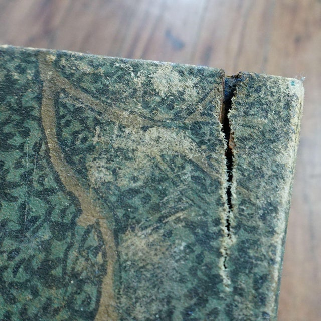 Antique Chinese Leather Trunk For Sale - Image 11 of 12
