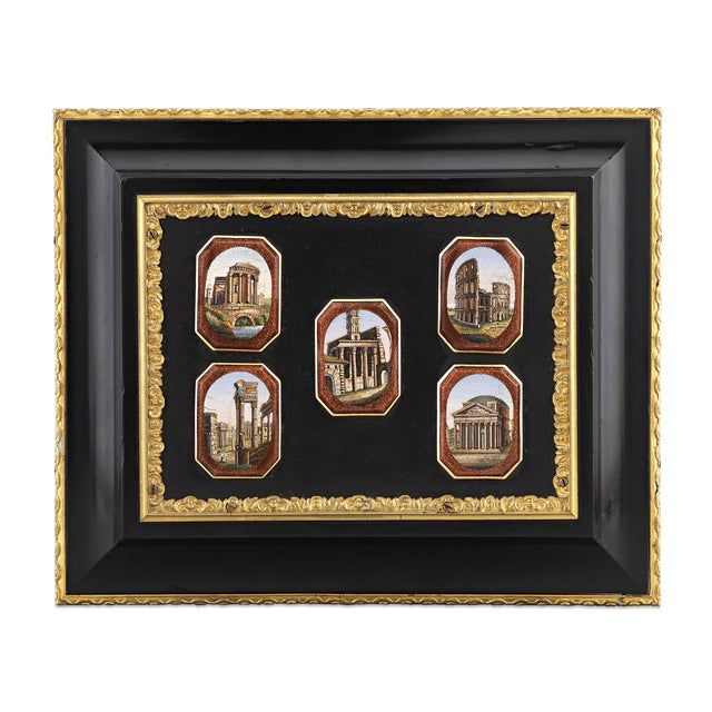Micromosaic and Pietre Dure Grand Tour Casket For Sale - Image 4 of 6