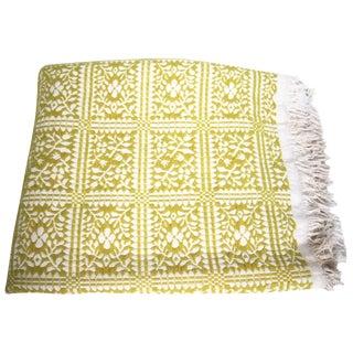 Vintage Peruvian Handwoven Blanket