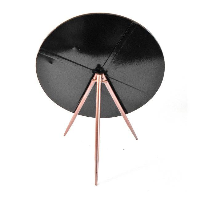 Mid-Century Modern Tripod Tabletop Mirror - Image 5 of 6