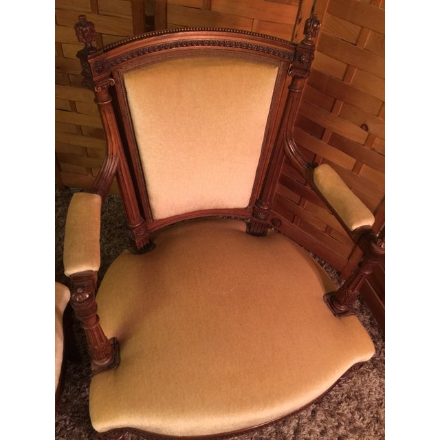 Louis XVI Style Armchairs - A Pair - Image 4 of 10