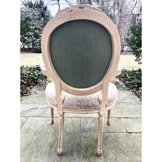 Modern Design Fauteuil.Modern Chenille Upholstered Fauteuil Accent Chair Chairish