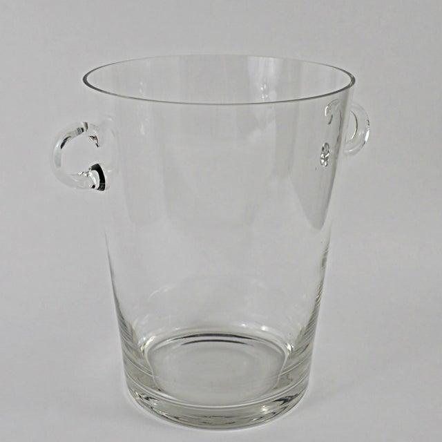 Handblown Glass Champagne Bucket - Image 2 of 4
