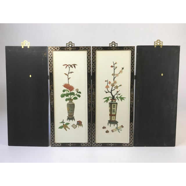 1950's Japanese Sculptural Wall Hangings - 4 - Image 3 of 9