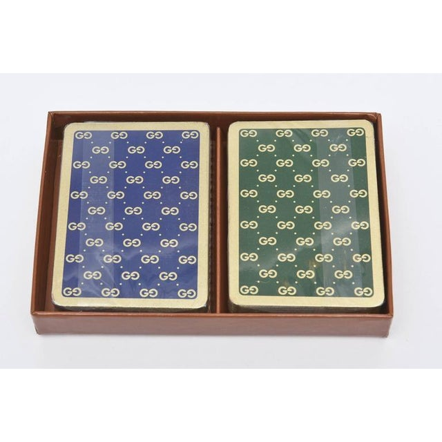 Set of Iconic Vintage Gucci Playing Cards - Image 8 of 10