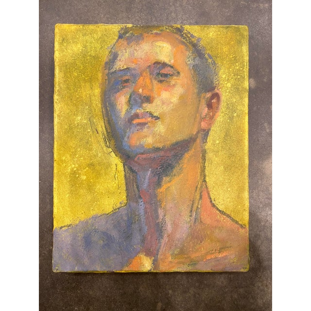 American Portrait of a Man by Bruce Knecht For Sale - Image 4 of 8