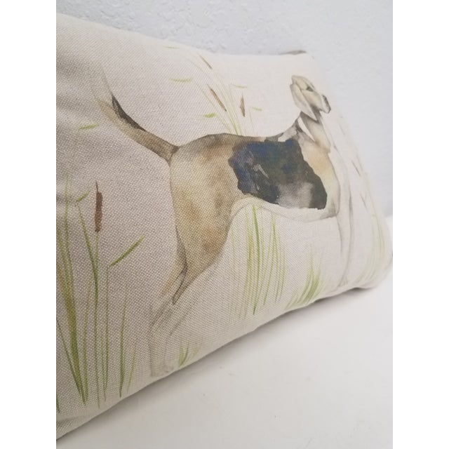 2020s Bolster Pillow of Dog - Made in Wales For Sale - Image 5 of 11