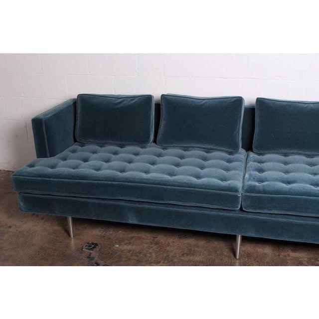 Dunbar Furniture Edward Wormley for Dunbar Sofa Model 4907A For Sale - Image 4 of 11
