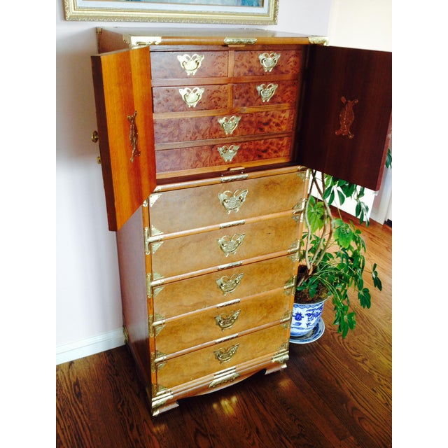 Vintage Asian Camphorwood Dresser - Image 3 of 8