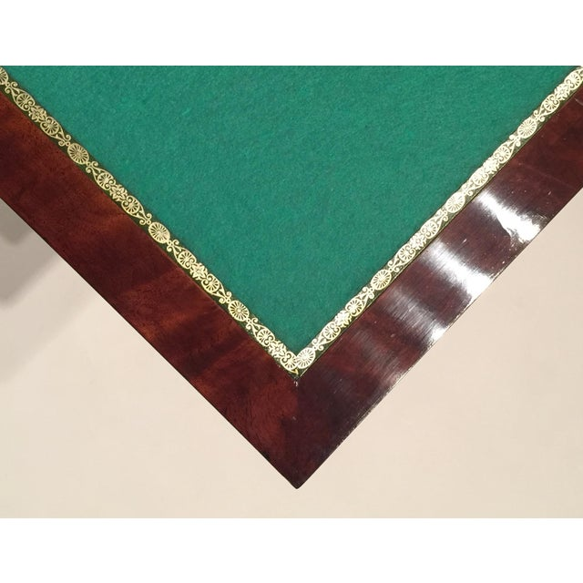 Mercier & Chaleyssin Flip Top Game Table - Image 8 of 9