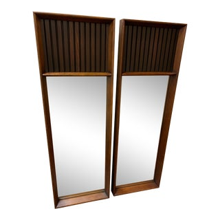 Mid Century Mirrors - a Pair For Sale