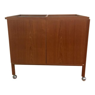1960s Vantinge Mobelindustri Danish Bar Cart For Sale