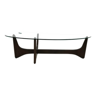 Midcentury Adrian Pearsall Sculptural Kidney Shape Cocktail Table For Sale