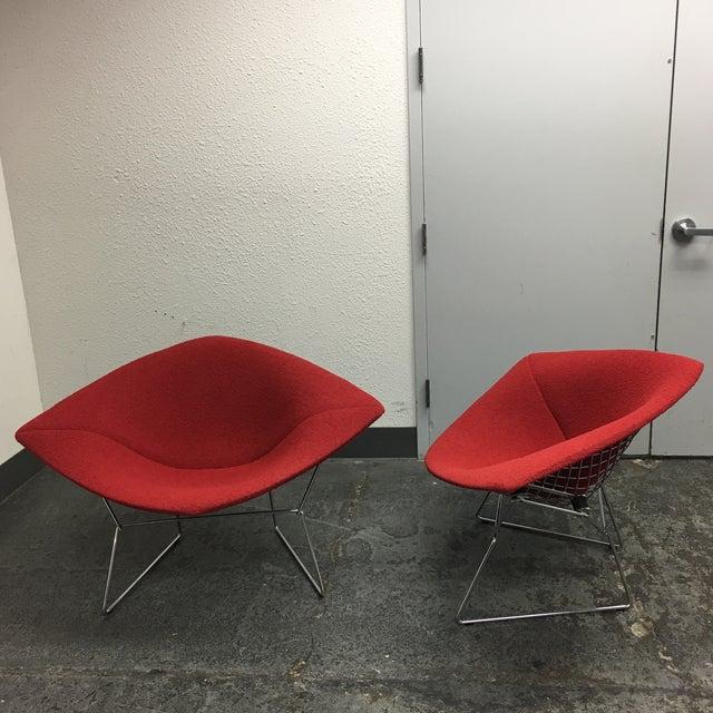 Bertoia Diamond Chairs - A Pair - Image 5 of 7