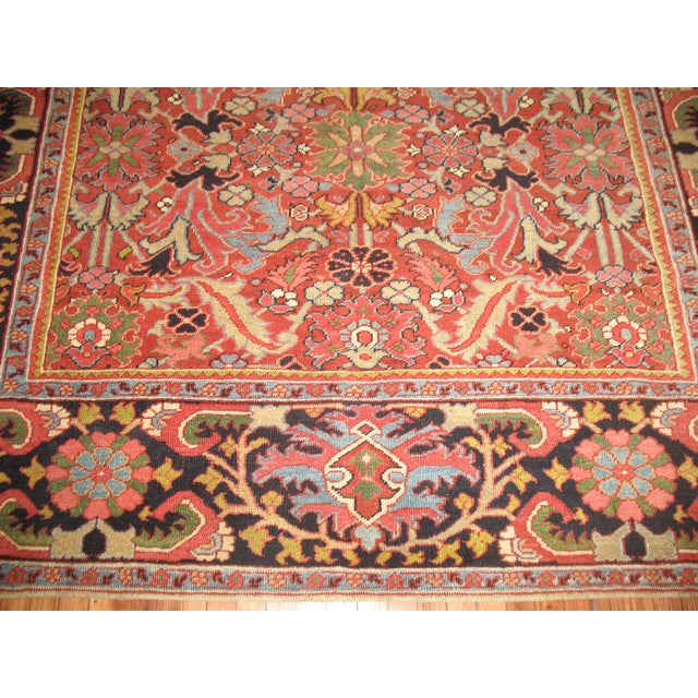 Antique Persian Heriz Rug - 8′4″ × 10′11″ - Image 11 of 11