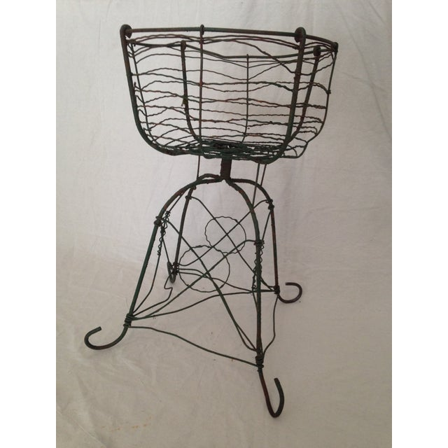 Antique Wirework Plant Stand - Image 2 of 5