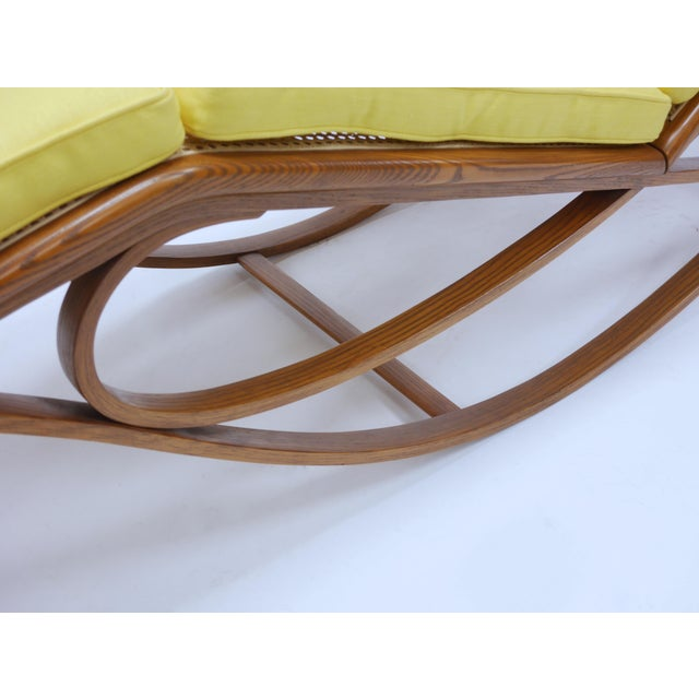 Brown Chaise Lounge by Edward Wormley for Dunbar For Sale - Image 8 of 12
