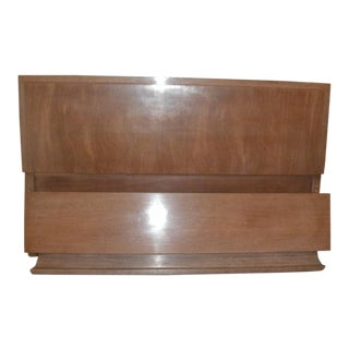 Reduced 1960s Vintage American of Martinsville Mid Century Modern Headboard and Footboard For Sale