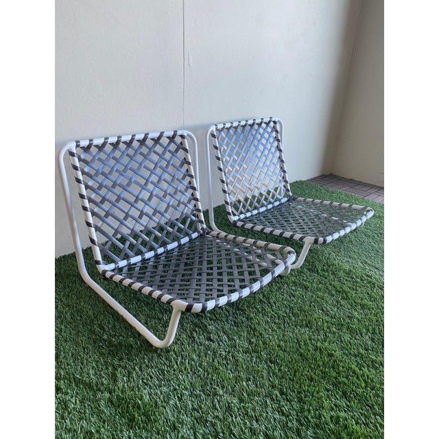Brown Jordan Tamiami Sand Chairs- 2 Piece For Sale In Los Angeles - Image 6 of 6