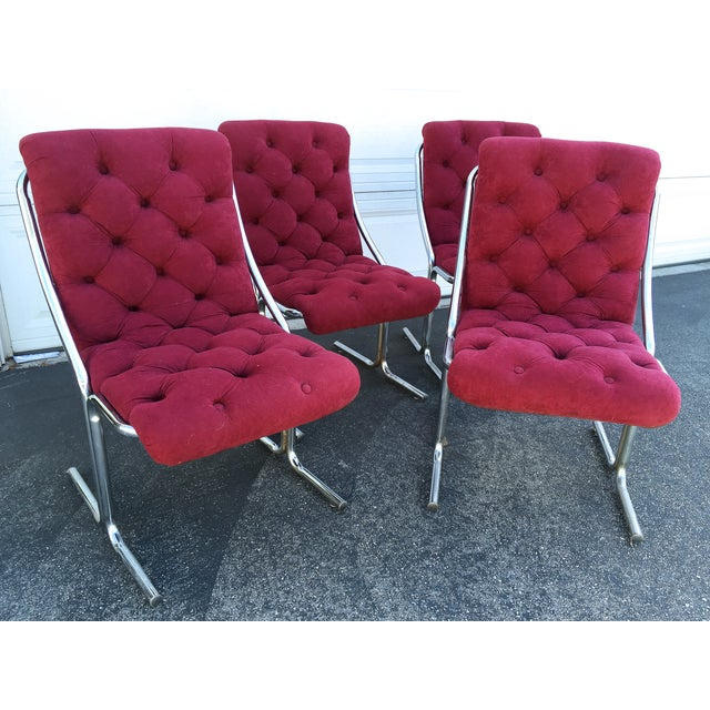 These chairs definitely have a wow factor. Reminiscent of the mad men era, these chairs are a combination of sleek design...