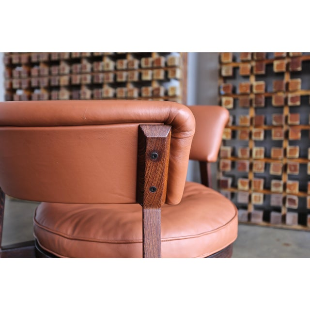 Vintage Mid Century Rare Eugenio Gerli P28 Lounge Chair for Tecno For Sale - Image 11 of 12