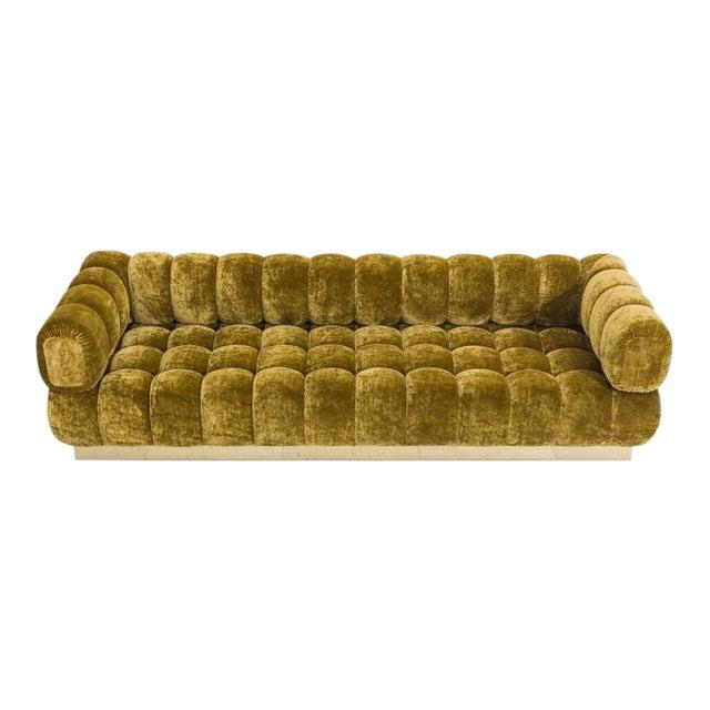 Todd Merrill Custom Originals Standard Tufted Sofa, 2016 For Sale